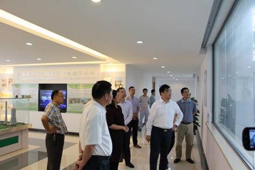 省环保厅赴扬州中法环境调研污泥处置工作
