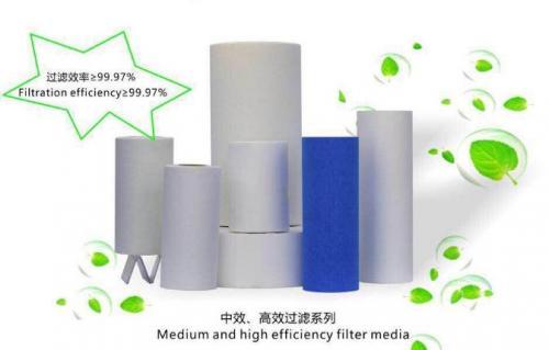 金海环境高性能过滤材料生产线投产