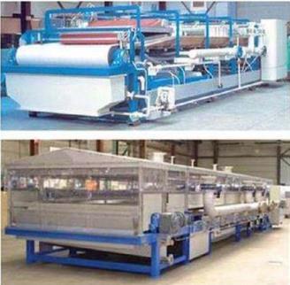 真空带式过滤机跟真空皮带脱水机的运作的基本原理