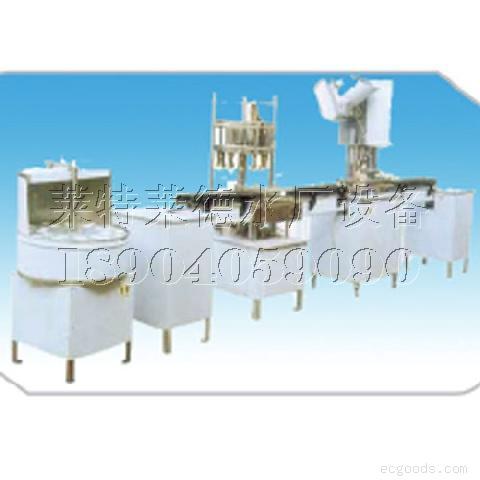 瓶装水灌装设备:全自动旋盖机-沈阳瓶装水灌装设备-大连水厂水处理设备销售