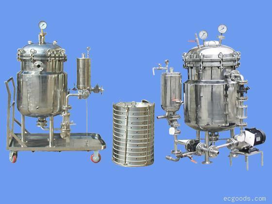 高容量、大流量、全密闭粉末活性碳过滤机