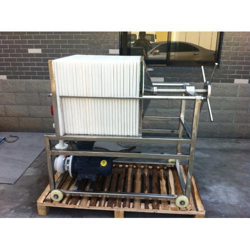聚丙烯PP板框过滤机