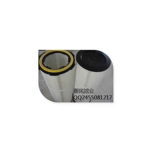 PTFEF覆膜聚酯滤筒,烟尘滤筒