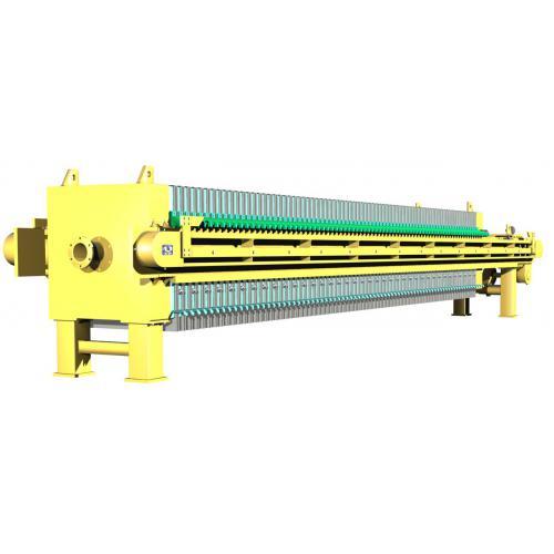 液压箱式隔膜压滤机
